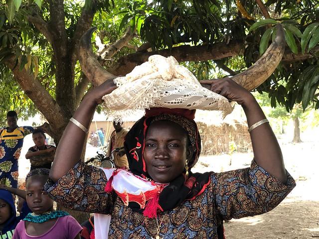 Mujer taneka en Benín