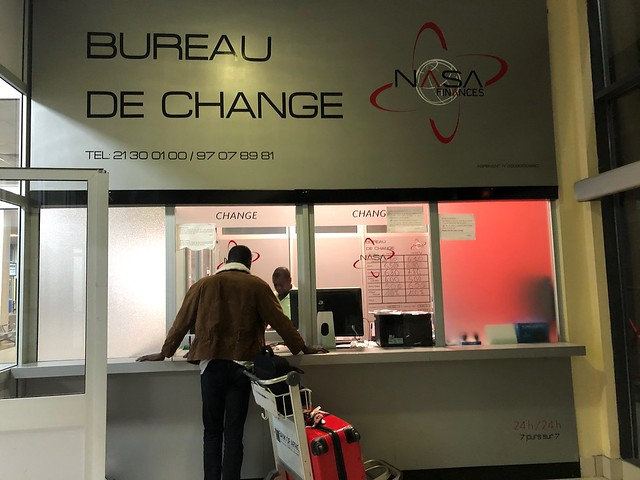 Casa de cambio en Benín