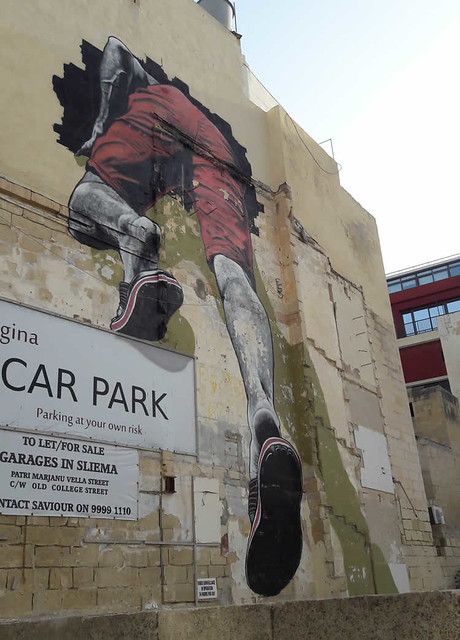 Street art in Malta, Sliema | Malta & Gozo