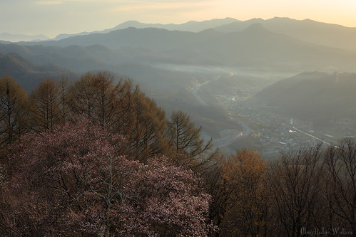 The spring view from Mt.Nagamine