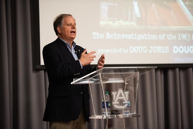 Doug Jones speaks