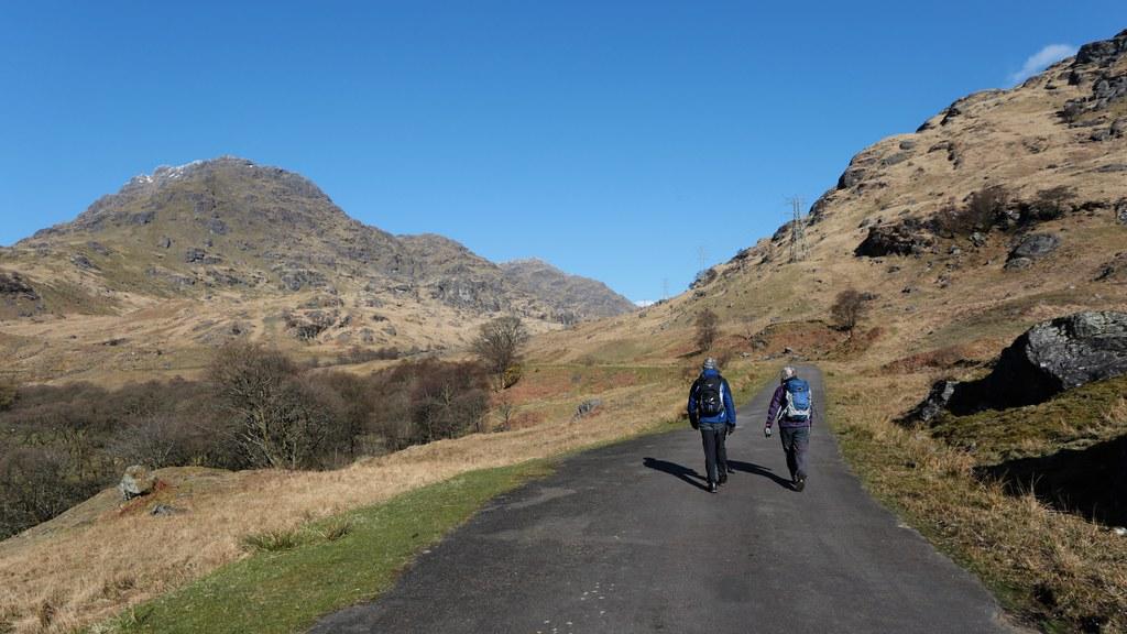 Heading towards Loch Sloy
