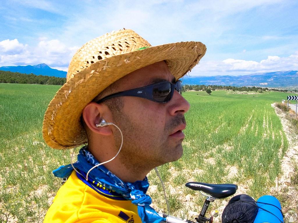Un selfie con mis casco particular