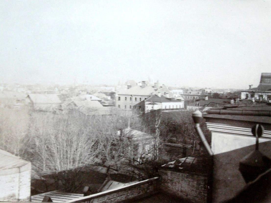 Вид с чердака дома Брашнина. 1905