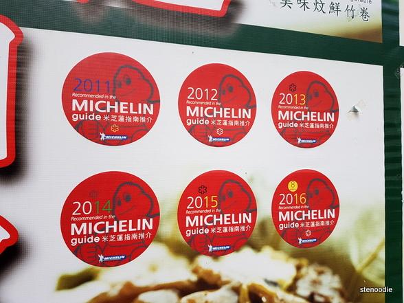 Tim Ho Wan Michelin stars