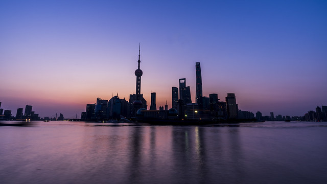 Colors of Shanghai Morning