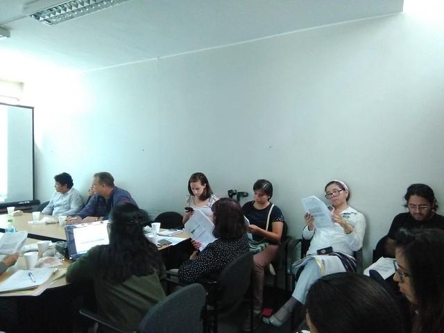 Tercera reunión del Grupo Técnico Comunicacional del Fondo de Contingencia