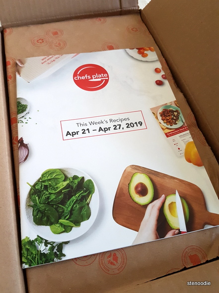 Chefs Plate delivery box