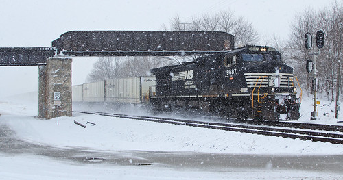 256 in the Snow
