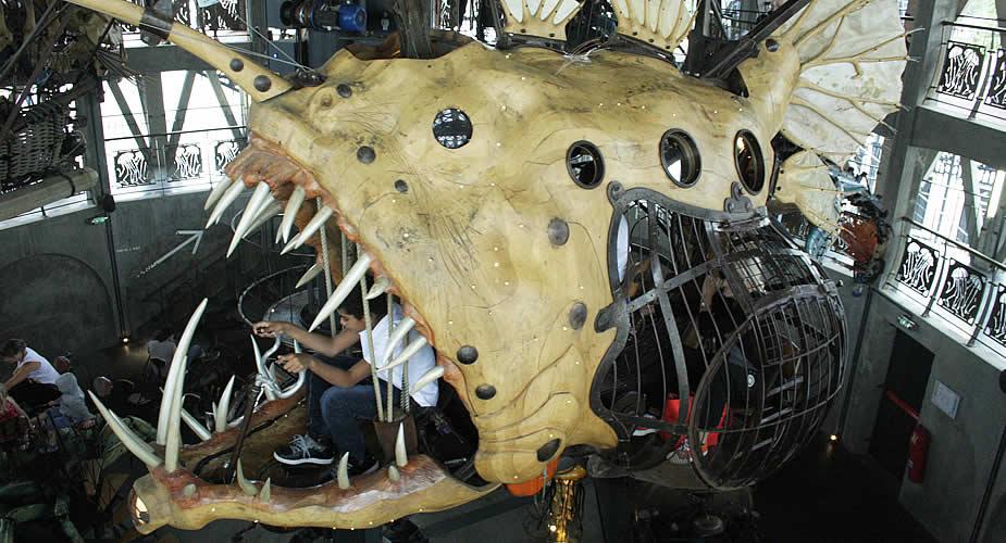 Bezienswaardigheden Nantes: Carrousel des mondes marins | Mooistestedentrips.nl