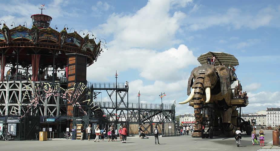 Bezienswaardigheden Nantes: Les Machines des île de Nantes | Mooistestedentrips.nl