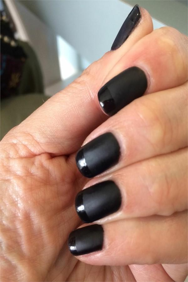 Top 40 Perfect Black Gel Nail Art Designs Trends - Fashonails