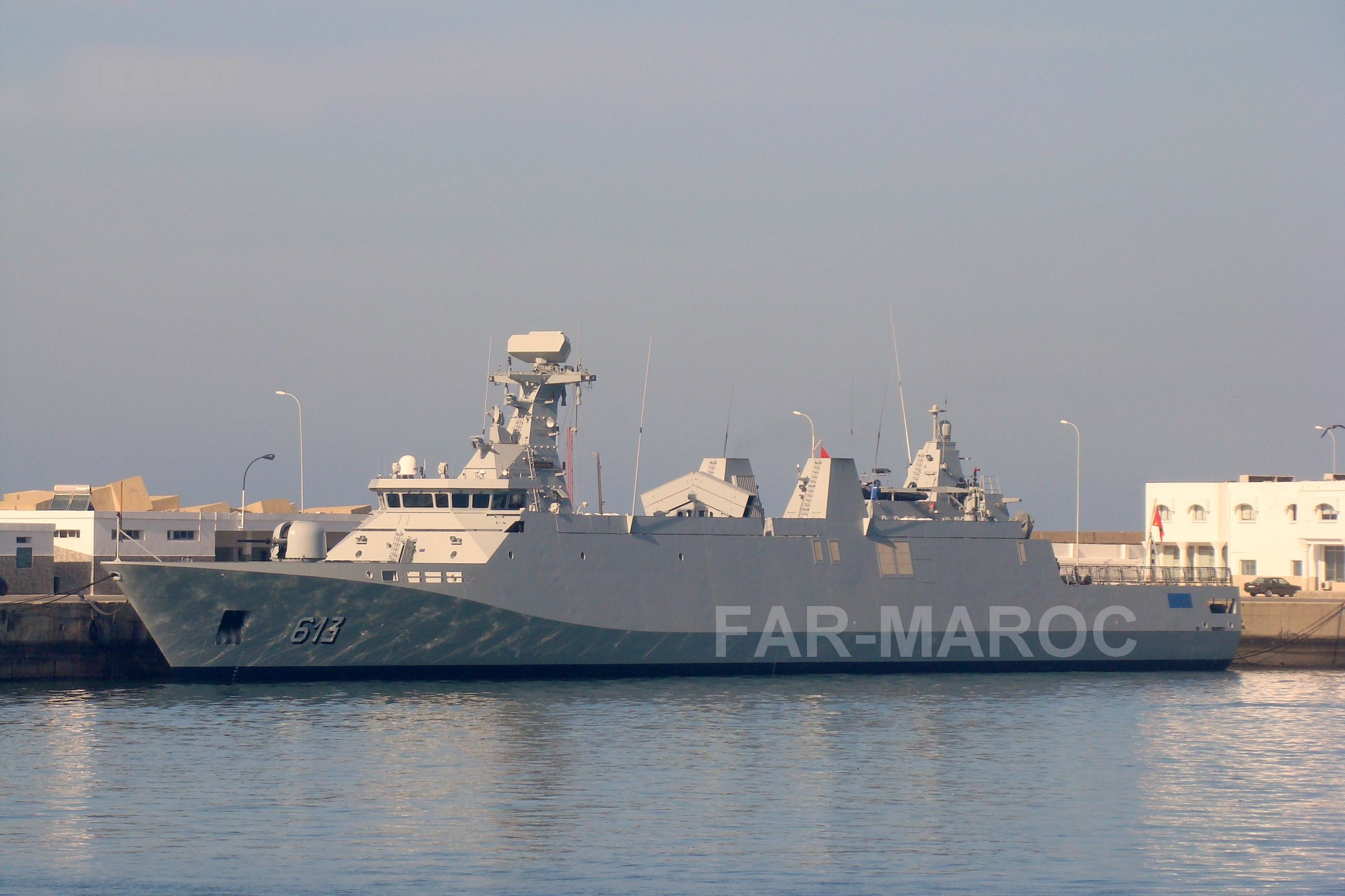 Royal Moroccan Navy Sigma class frigates / Frégates marocaines multimissions Sigma - Page 25 33834164328_a7431591be_o