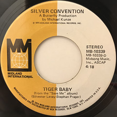 SILVER CONVENTION:FLY, ROBIN, FLY(LABEL SIDE-B)