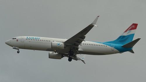 Luxair Boeing 738-800 @ HAM | by timur.tatlici