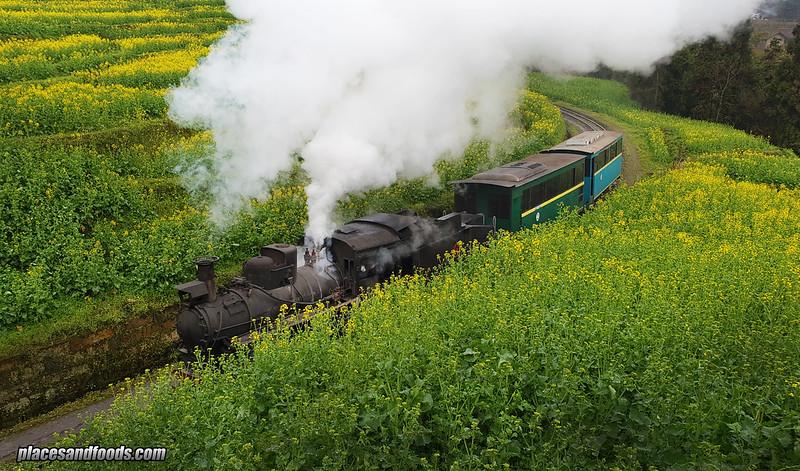 china jia yang steam train
