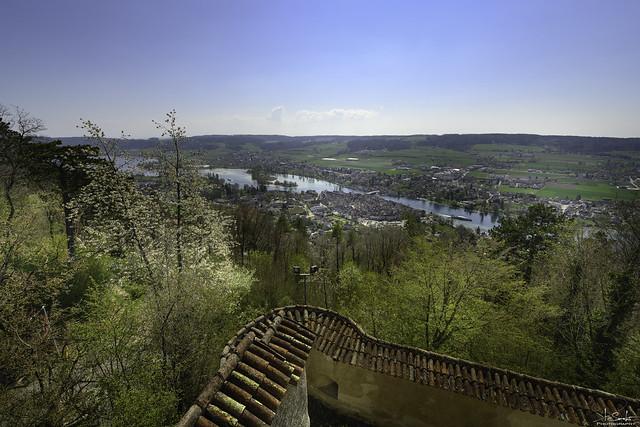 View of Stein am Rhein from Castle Hohenklingen - Schaffhausen - Switzerland