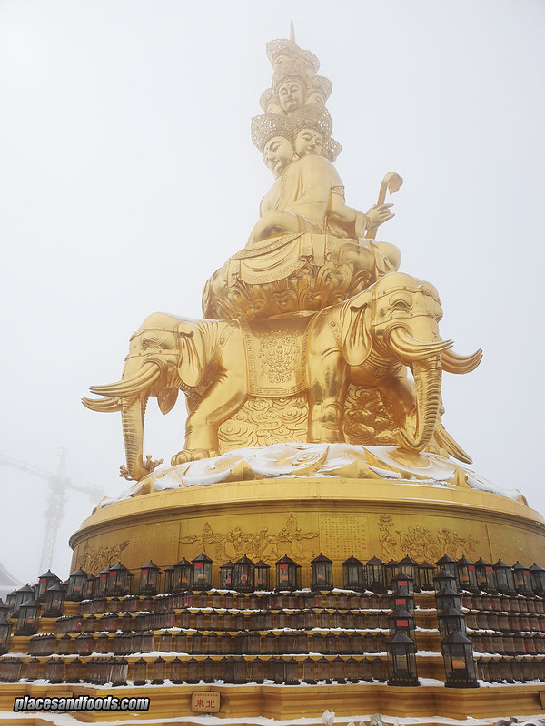 china mount emei buddha