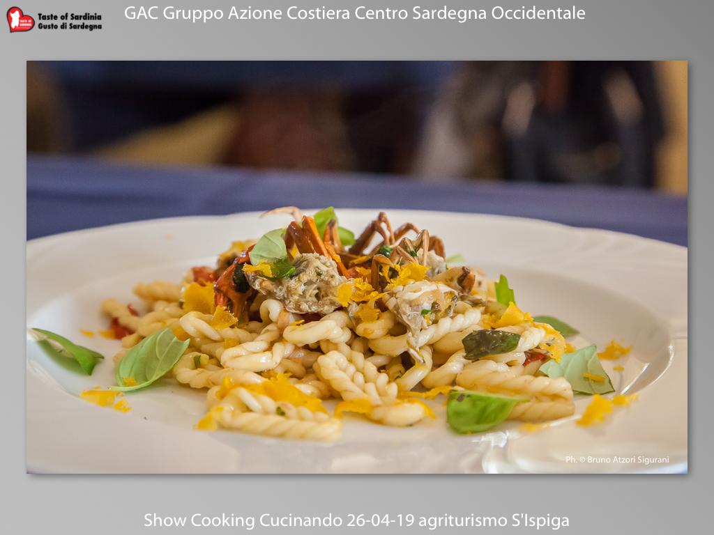 "show coocking ""cucinando"" a cura del GAC Sardegna Centro Occidentale"