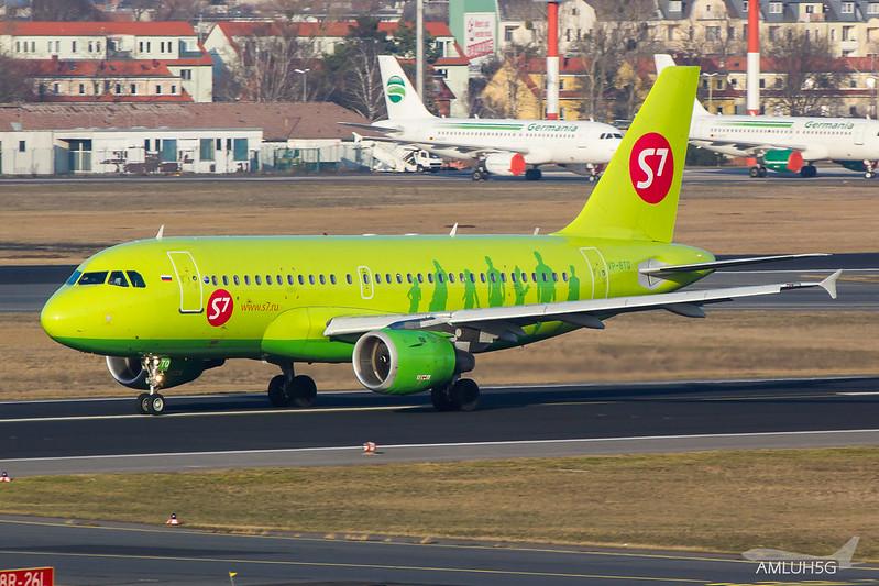 S7 Sibiria Airlines - A319 - VP-BTQ (1)