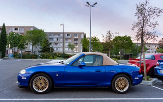 Mazda MX5 - LaserBlue - SSR Reverse Mesh | by Jerome Goudal