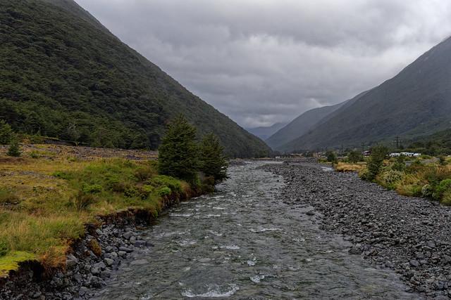 Bealey River at Arthur's Pass