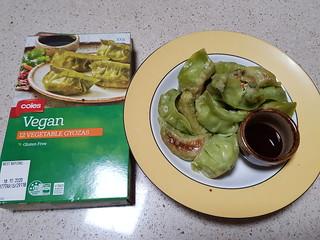 Coles Vegan Gyoza