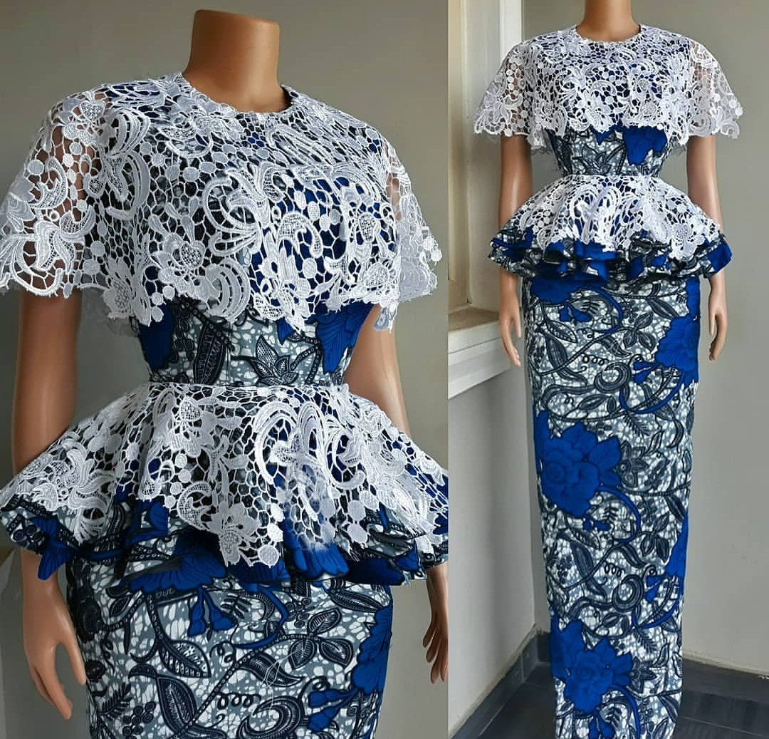 Top Ankara Skirt And Blouse for African Women 2019