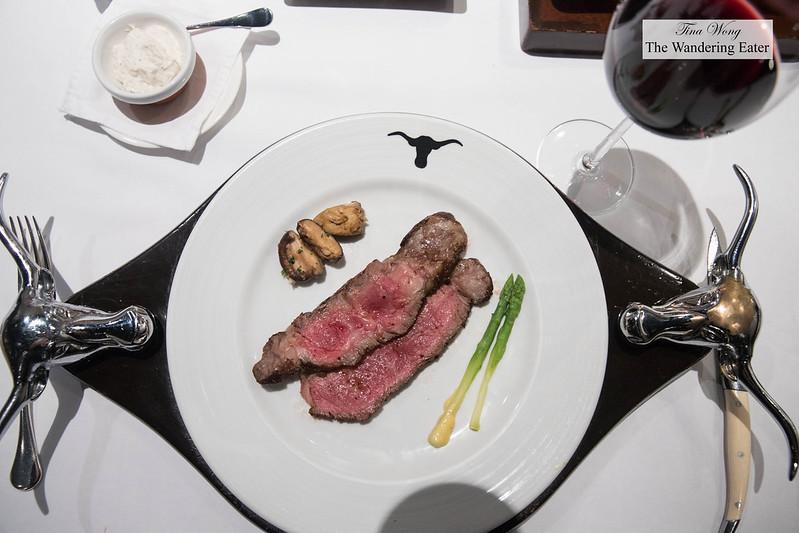 My first round of steak