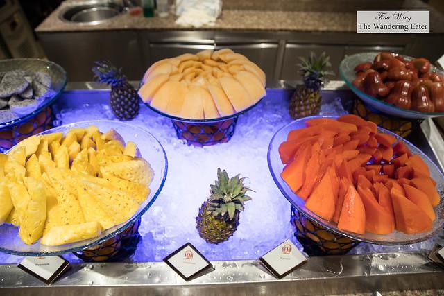 Fresh fruit at Next2 Cafe