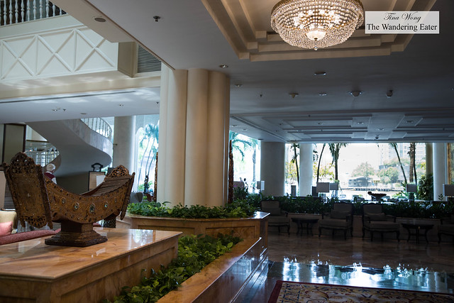 Lobby area at Krungthep Wing