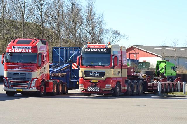 Volvo FH4 - MAN - Torben Rafn & Co. Sommersted
