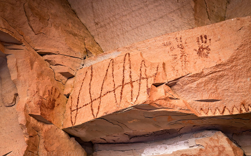 Cane Wash Pictographs