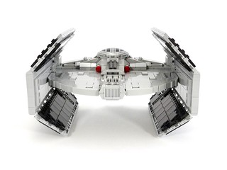 TIE Advanced X1 LEGO MOC | by barneius industries