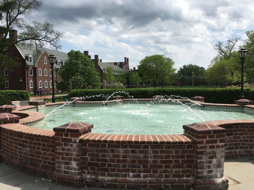 The unsung architect who designed the South Green fountain