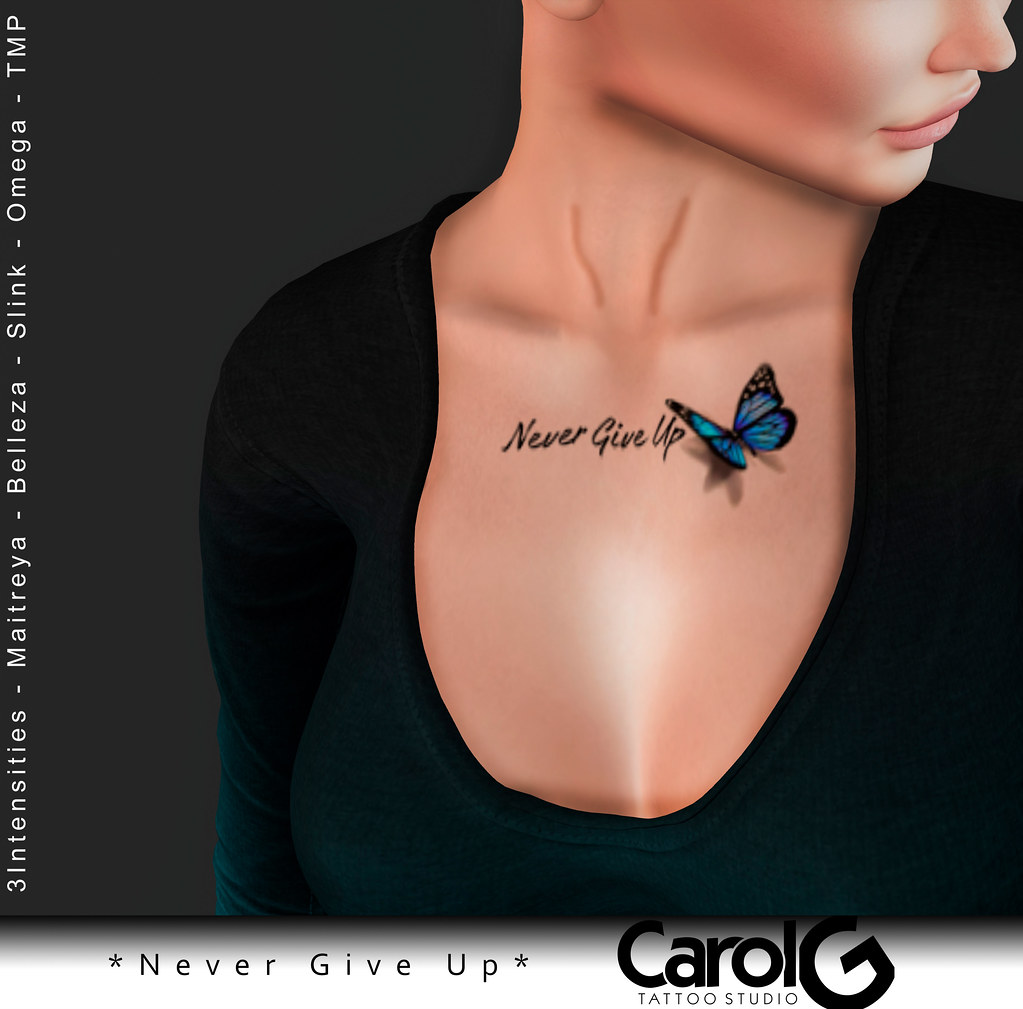 Never Give Up TaTToo [CAROL G]