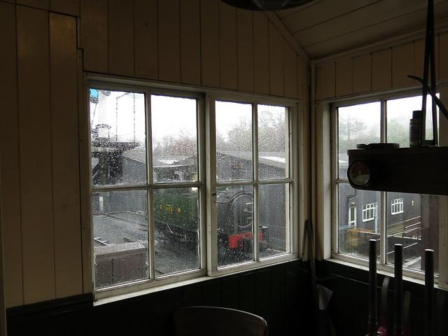 Wet Day In Llanfair Caereinion