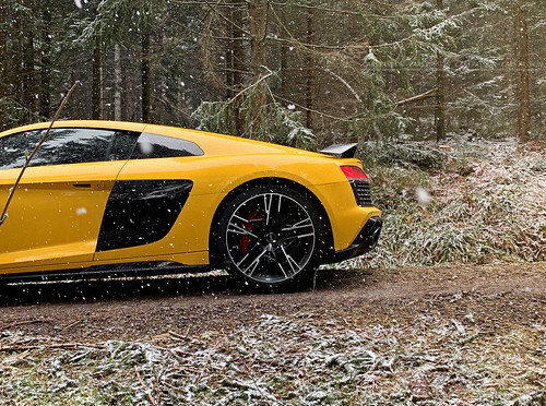 Essai Audi R8 V10 Performances 2019