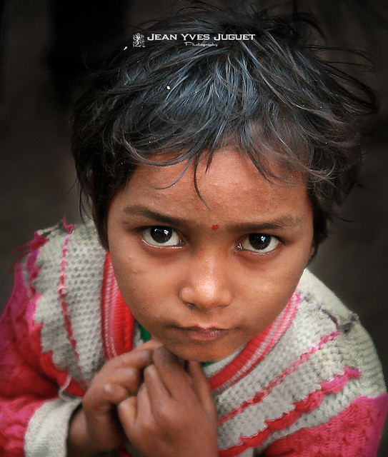 Gamin des rues à Calcutta (Bengale occidental - Inde) - Street kid in Kolkata (West Bengal - India)