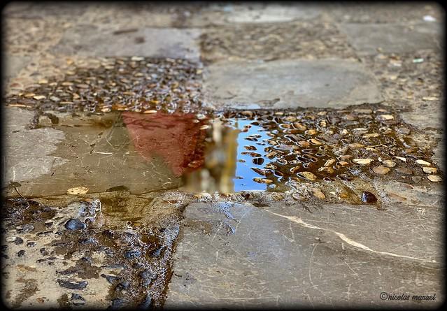 Reflejos #agua #reflejos #charcos #lluvia