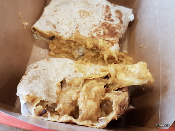 Signature Butter Chicken Roti