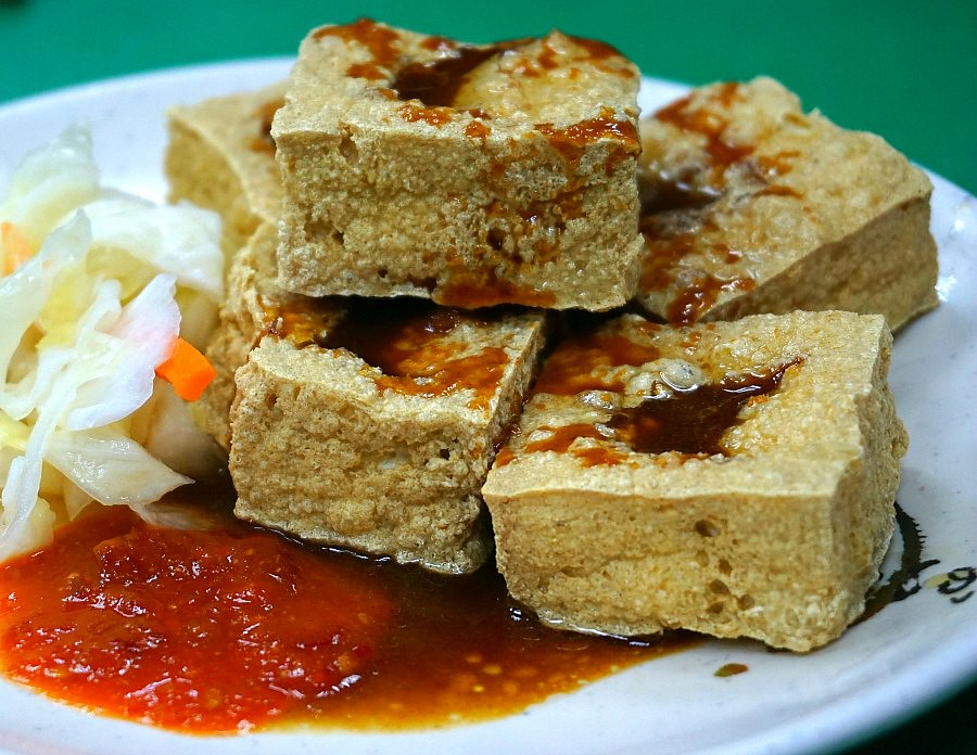 Taiwan Food - Stinky Tofu