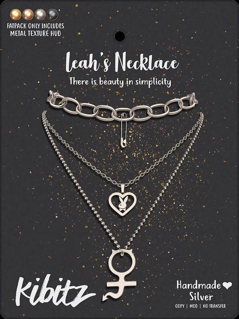 kibitz leah necklace vendor