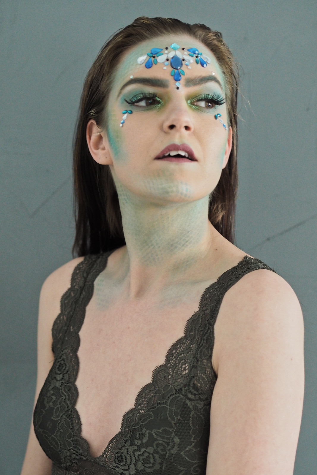 mermaid sfx makeup