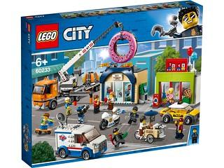 浮誇的大甜甜圈實在超可愛~ LEGO 60231~60234 城市系列 2019下半年部分盒組公開 Part 1!!
