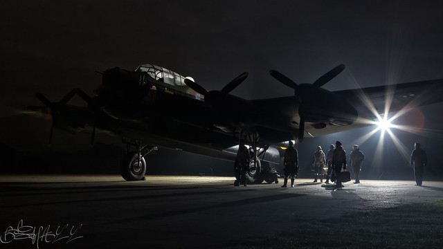 Lincolnshire Aviation Heritage Centre Avro Lancaster B.VII G-ASXX NX611-32