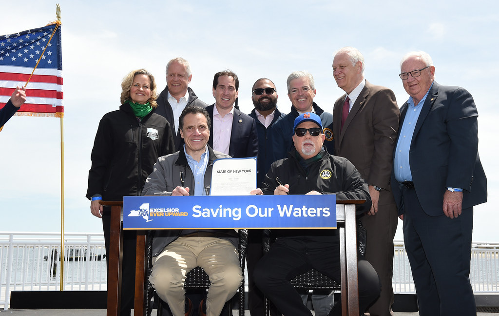 Governor Cuomo, Joined by Billy Joel, Signs Bill to Ban Offshore Drilling in New York Waters