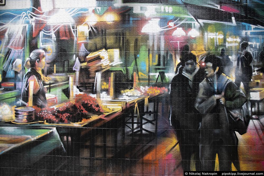 Гонконг. Настенные фрески, отличное метро и приятные маргиналы.