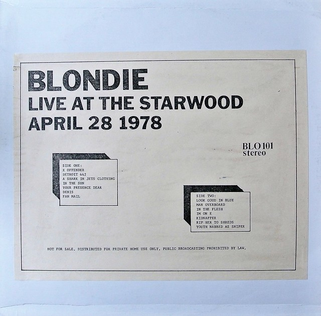 Blondie - Live At The Starwood