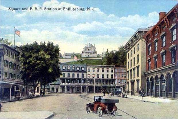 Union Square, Phillipsburg, New Jersey